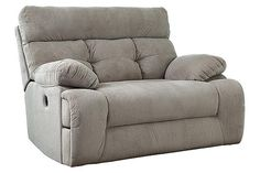 Indoor oversized chaise lounge kensington reclining for Catnapper jackpot reclining chaise 3989
