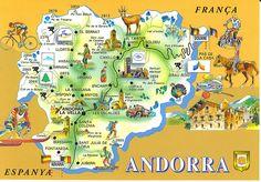 Andorra twixt France & Spain