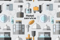 Hotel service pattern @creativework247