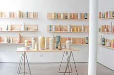 The Tortus Boutique in Copenhagen Denmark Handmade danish ceramics from Tortus Copenhagen click the link now for more info. Tortus Copenhagen, Copenhagen Denmark, Ceramic Store, Ceramic Studio, Ceramic Art, Diy Décoration, Pottery Studio, Pottery Shop, Contemporary Ceramics