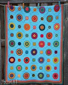 Looking for your next project? You're going to love Hippie Gypsy Blanket by…
