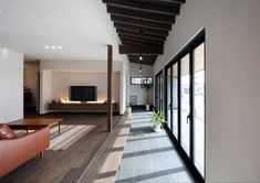 Divider, Stairs, House Design, Flooring, Takachiho, Interior Design, Architecture, Building, Room