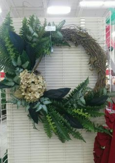 Greenery wreath - 3912