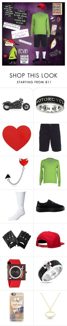 """Kevin"" by billdip on Polyvore featuring Yamaha, King Baby Studio, rag & bone, Bling Jewelry, Cruciani, Swell, Puma, '47 Brand, Flud Watches and Casetify"