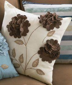 Felt Appliqué Toss Pillow from Through the Country Door®
