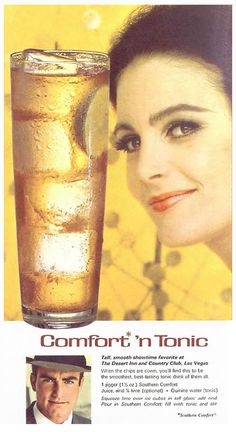 Adult Beverages, 1960s Comfort 'n Tonic