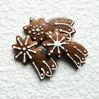 Prodané zboží uživatele pichsem-pichtam | Fler.cz Cookie Jars, Cookie Decorating, Gingerbread Cookies, Desserts, Christmas, Food, Crack Crackers, Gingerbread Cupcakes, Tailgate Desserts