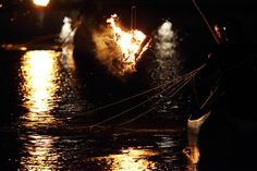 Fire on the river | by Teruhide Tomori