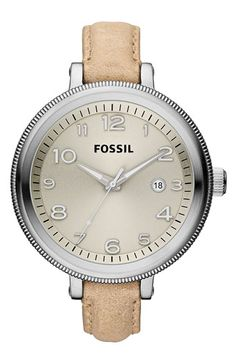 Fossil 'Bridgette' Leather Strap Watch available at Nordstrom! Just ordered mine!