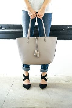 Loving these SoleSociety Tamra shoes and Campbell tote!