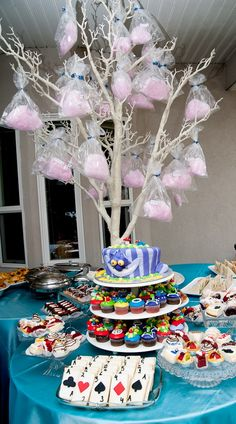 madhatter theme ... from my little sister (who is all grown up and gorgeous) Maleeha
