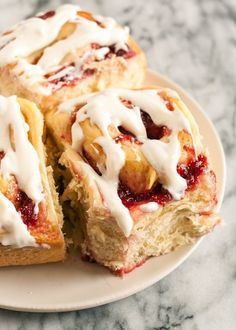 Jam-Filled Sweet Rolls Recipe