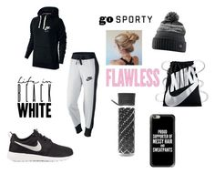 workout by mylifeasmaddy25 on Polyvore featuring polyvore, fashion, style, NIKE, Casetify, Orla Kiely and clothing