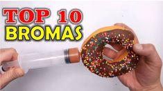 TOP 10 BROMAS - Bromas para hacer a tus amigos (Recopilación 2016) #bromas #pranks #risas #humor