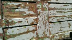 Old painted door I saw a Trade Days in Canton.