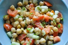 A Channa Salad was just what the doctor ordered. I wasn't feeling to do much cooking but I still wanted a refreshing and creative meal. Having done a few recipes using channa (garbanzo beans), like Curry Channa Cutters, Curry Channa & Aloo, and Channa Puri, I was still in an exploritative ( like dat word...Read More »