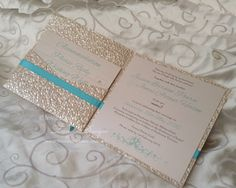 Wouldn't use this for a beach wedding though but like the colors. Custom designed Beach Wedding Invitation with a practical pocket with all the info for your destination wedding. Pocketfold Invitations, Wedding Invitations Online, Handmade Wedding Invitations, Elegant Wedding Invitations, Destination Wedding, Embossed Paper, Weddings, Teal Blue, Luxury Travel