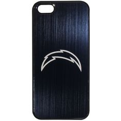 NFL San Diego Chargers Etched iPhone 5/5S Etched Case. Soft rubberized outer finish to improve grip. Officially licensed MLB product. Brushed metal insert. Laser etched team logo. Case weighs less than an ounce.
