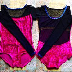 Meagan / Body : v-lady Back : mesh black Trim : v-dark blue #yumiko