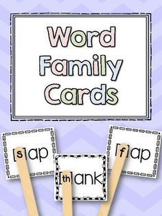 Building Word Families Game