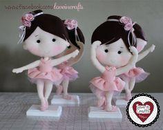Ballerinas in Felt  / Bailarinas de Feltro