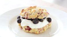 Raspberry Shortcakes Recipe   Cooking   How To   Martha Stewart Recipes