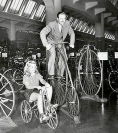 Walt and Diane from their visit to the Henry Ford Museum in Greenfield in 1940