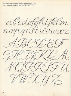 Script lettering (1957) p12 Could be used in any craft that involves lettering