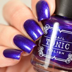 """Tonic Nail Polish June 2018 Releases """"Indiglo"""""""