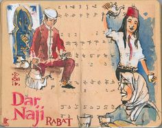 Rabat, Dar Naji.