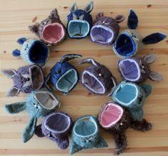 New Animal Hats, blue 💙 and purple 💜 edition, next Tuesday in my etsy shop. ❤️❤️❤️❤️❤️❤️❤️❤️❤️❤️❤️ Nuevos gorros de animales, edición azul 💙 y morado 💜, el próximo martes en mi tienda de etsy. #blythe #ブライス #브라이스 #blythehat #animalhats #hats  #soft #cute #cutehats #mohair #polarfleece #babybunnyhat #mousehat #foxhat #bearhat #puppyhat #cathat #dafnery #dafnerydolls #dafneryanimalhats #blue #purple