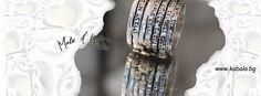 """Пръстен """"Седем благословии"""" ръчно изработен от сребро, злато с вградени диаманти, рубини или гранат  и с печат за автентичност от бутик ХаАри  www.kabala.bg  handmade ring """"Seven Blessings"""" Make A Wish, Jewelry Shop, Silver, Accessories, Shopping, Fashion, Moda, Jewlery, Jewellery"""