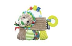 The whole range helps your child's curiosity arousing thanks to the different activities. With knots, teething ring, rattle, crinkly paper. Nespresso, Pet Toys, Kids Toys, Action Toys, Toddler Gifts, Sell Items, Lion, Playroom, Teddy Bear