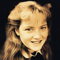 Kate Winslet as a young girl