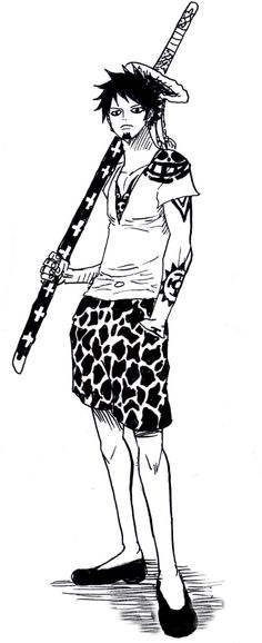 Trafalgar D. Water Law with style One Piece Manga, One Piece Fanart, Law Tattoo, One Piece Tattoos, Anime D, Pieces Men, One Piece Images, 0ne Piece, Trafalgar Law