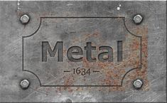 Engraved Metal Text Style Photoshop Tutorial - Photoshop tutorial | PSDDude