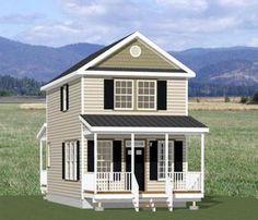 16x30 House -- #16X30H7A