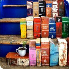 Tijolos! Em forma de livro!  www.travessa.com.br