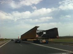 #Transportes especiales por #carretera A92 #InfraIntel