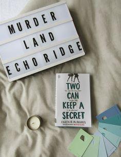 #wrapup #books #foreverfictional @chloe_a_harris #twocankeepasecret #karenmmcmanus #bookstagram
