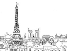Paris Coloring Book: Min Heo, Gloria Fowler: 9781623260484: Amazon.com: Books
