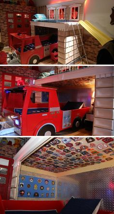 Exceptional The Ultimate Firefighter Themed Kidu0027s Room | Shared By LION