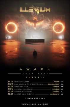 #housemusic Illenium Announces Phase One of US 'AWAKE' Tour: Nick Miller, better known globally by his stage name Illenium, has had what…