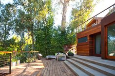 Modern home is located in Los Angeles and was recently renovated by Studio Shift Architects
