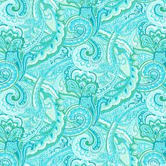 Paisley Breeze - Turquoise