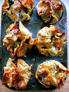 Veggie Bundles Wrapped in Phyllo                                                                                                                                                                                 More