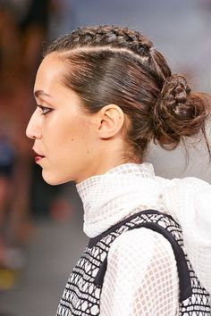 Don't worry: If things get a little too heated mid-braid, he can always stop halfway, toss the rest into a messy bun, and get down to business.