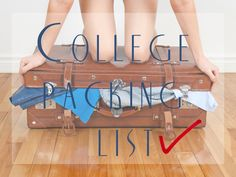 Packing for College: Tips and Tricks - Mostly Morgan - Moving OUT with College Wardrobe Essentials Source by adriradiance - My College, College Years, College Hacks, College Graduation, College Wardrobe Essentials, School Essentials, College Packing Lists, Dorm Life, Moving Out
