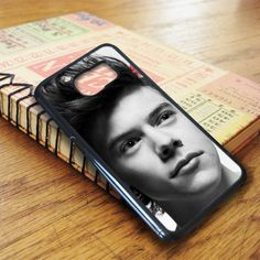 Black White Harry Styles Face Samsung Galaxy S7 Case