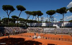 A general view of the courts during day 4 of the Internazionali BNL d'Italia 2014 on May 14, 2014 in Rome, Italy.